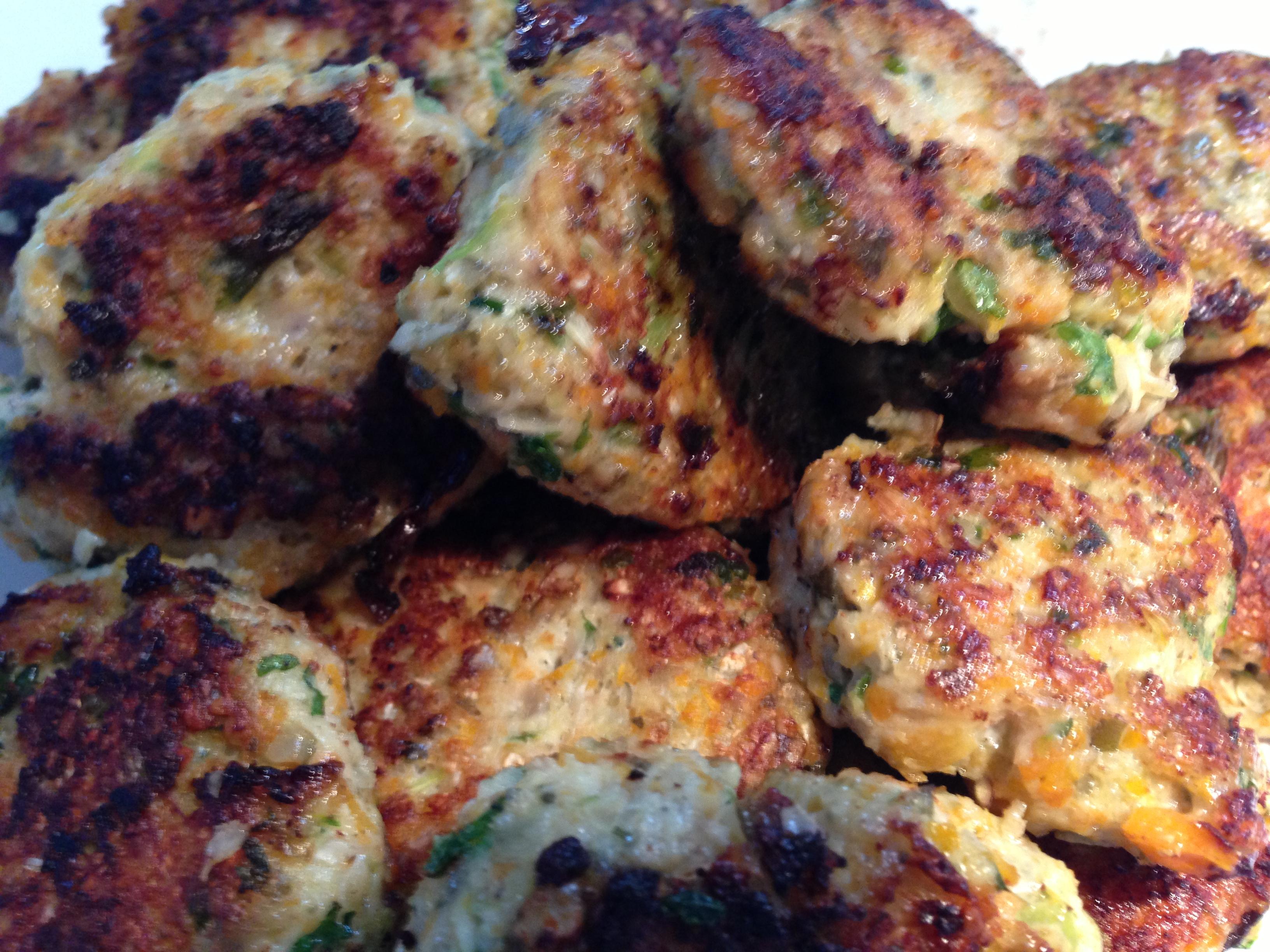 Sunde Kylling- og grøntsags frikadeller