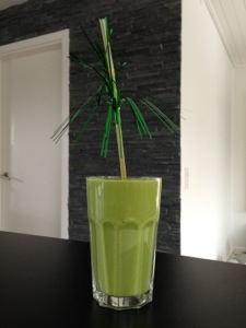 børnevenlig spinat smoothie